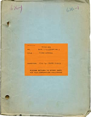 Young Sinners (Original script for the 1931 play, Fox file copy): Harris, Elmer (playwright)