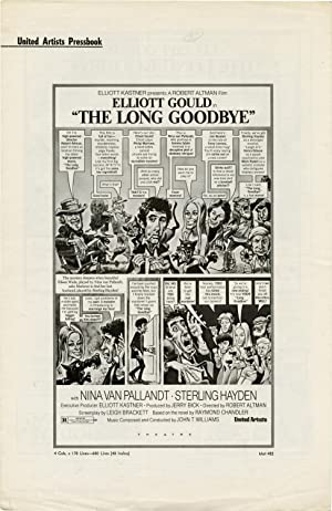 The Long Goodbye (Original Pressbook for the 1973 film): Altman, Robert (director); Raymond ...