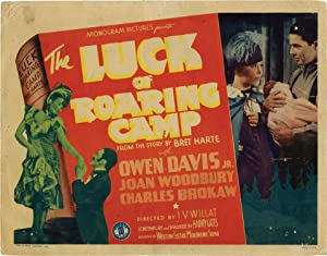 The Luck of Roaring Camp (Set of 8 lobby cards for the 1937 film)