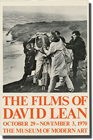 The Films of David Lean (Original Poster for an exhibition)