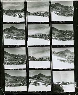 The Way West (Original contact sheet from the 1967 film)