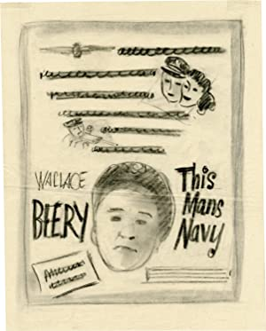 This Man's Navy (Archive of concept art sketches for advertisements promoting the film's ...