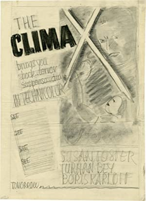 The Climax (Concept art sketch for advertisement promoting the film's original release)