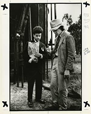 Eraserhead (Two original photographs from the set of the 1977 film): Lynch, David (director); Jack ...