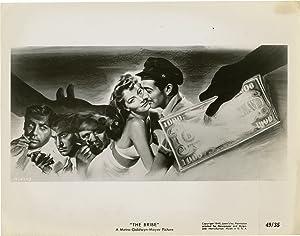 The Bribe (Original photograph for the 1949 film): Leonard, Robert Z. (director); Frederick Nebel (...