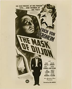 The Mask of Diijon (Original photograph for the 1946 film)