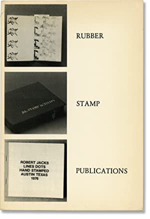 Rubber Stamp Publications [Rubber magazine, Vol. 3, No. 4-6] (First Edition): Van Barneveld, Art