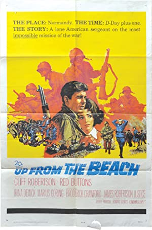 Up from the Beach (Original poster for the 1965 film): Parrish, Robert (director); George Barr (...