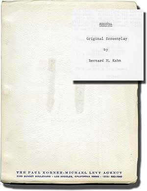 Rhonda (Screenplay for an unproduced film): Kahn, Bernard M. (screenwriter)