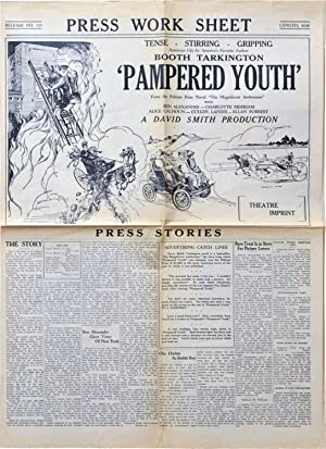 Pampered Youth (Original Pressbook for the 1925 film)