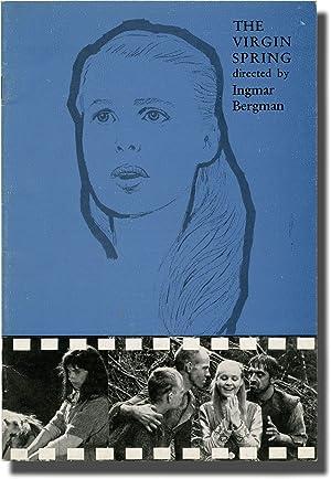 The Virgin Spring (Original program for the 1960 film): Bergman, Ingmar (director); Ulla Isaksson (...
