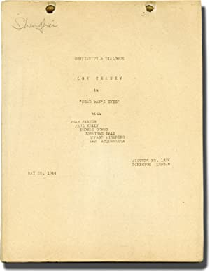 [Inner Sanctum] Dead Man's Eyes (Post-production script for the 1944 film)