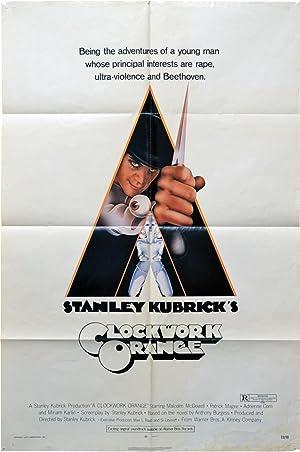 A Clockwork Orange (Original poster for the 1971 film): Kubrick, Stanley (director, screenwriter); ...