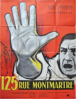 125 rue Montmartre (Original French poster for the 1959 film): Grangier, Gilles (director, ...