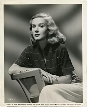 Honeymoon Lodge (Original photograph of June Vincent from the 1943 film)