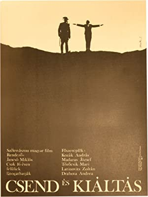 Silence and Cry [Csend es kialtas] (Orginal Hungarian poster for the 1968 film)