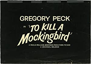 To Kill a Mockingbird (Original conceptual Pacific title card artwork for the trailer advertising...