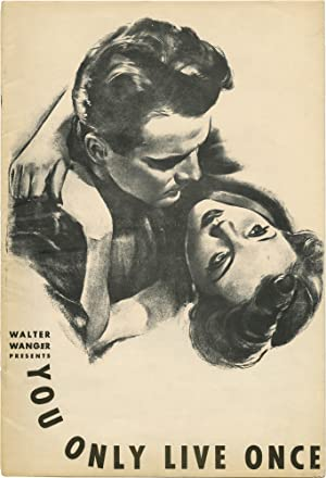 You Only Live Once (Original Film Pressbook for the 1937 film)