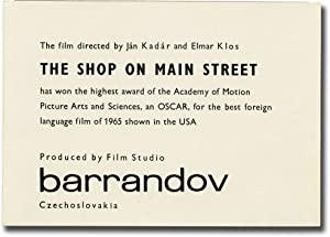 The Shop on Main Street [Obchod na korze] (Original herald for the 1965 film)