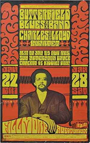 Butterfield Blues Band and the Charles Lloyd Quartet at Fillmore Auditorium (Original 1967 concer...