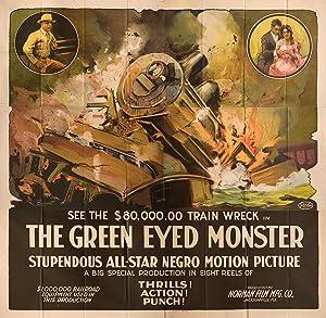 The Green-Eyed Monster (Original six sheet poster for the 1919 silent film): Norman, Richard (...
