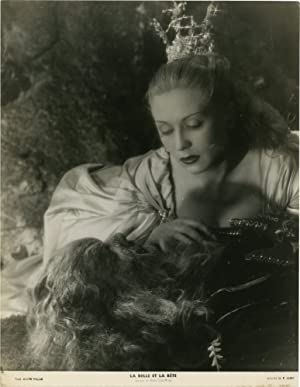 La belle et la bete [Beauty and the Beast] (Original photograph from the French release of the 19...