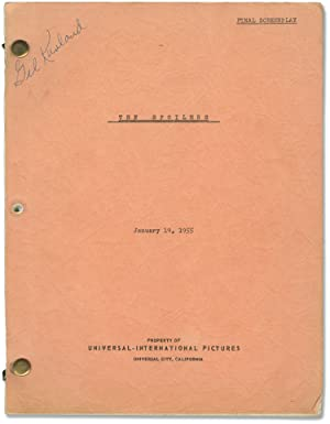 The Spoilers (Original screenplay for the 1955 film)