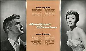 Magnificent Obsession (Original UK program for the 1954 film): Sirk, Douglas (director, producer); ...