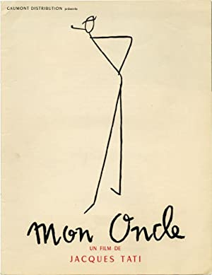 Mon Oncle (Original French pressbook from the 1958 film): Tati, Jacques (director, screenwriter, ...