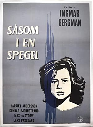 Through a Glass Darkly [Sasom i en spegel] (Original art style poster for the 1961 film): Bergman, ...