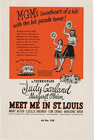 Meet Me in St. Louis (Archive of concept art sketches for advertisements promoting the film's ...