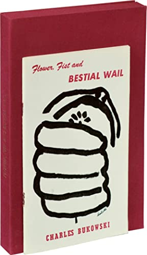 Flower, Fist and Bestial Wail (First Edition, author's edition with original illustration by ...
