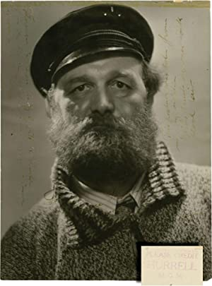 Photograph of explorer Peter Freuchen (Inscribed double weight portrait photograph from 1932)