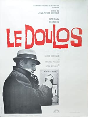 Le doulos (Original French poster for the 1962 film noir)