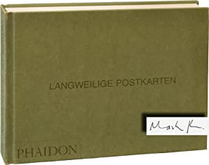 Langweilige Postkarten [Boring Postcards Germany] (Signed First Edition)