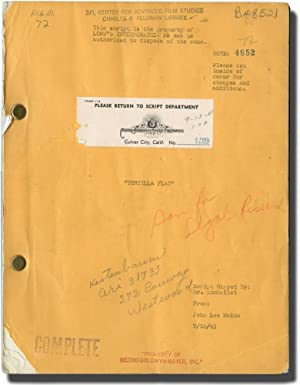 Tortilla Flat (Original screenplay for the 1942 film)