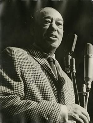 Photograph of Duke Ellington, signed