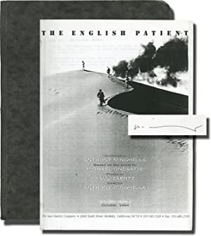 The English Patient (For Your Consideration screenplay for the 1996 film)