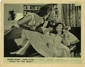 Yield to the Night [Blonde Sinner] (Original British front-of-house card for the film): J. Lee ...