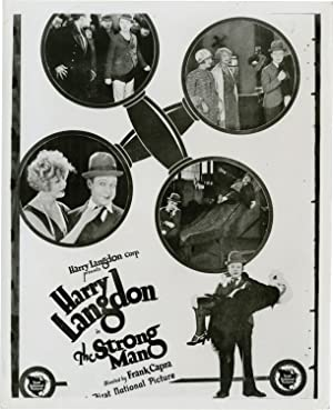 The Strong Man (Original photographic proof trial poster from the 1926 film)