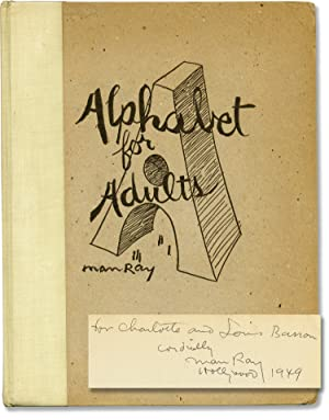 Alphabet for Adults (First Edition, inscribed to Bebe and Louis Barron)