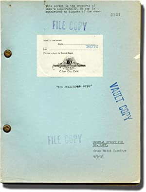 The Ice Follies of 1939 (Original screenplay for the 1939 film)