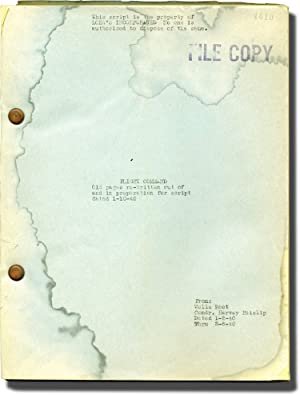 Flight Command (Original screenplay for the 1940 film)