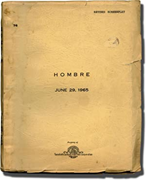 Hombre (Original screenplay for the 1967 film, working script)