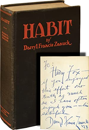 Habit and Other Short Stories (First Edition, inscribed in the year of publication)