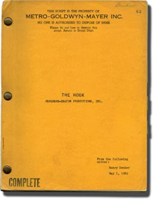 The Hook (Original screenplay for the 1963 film)