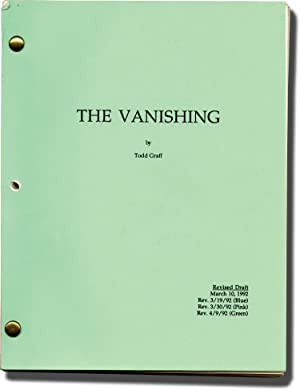 The Vanishing (Original screenplay for the 1993 film)