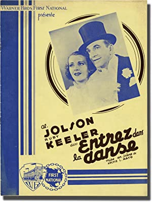 Entrez dans la danse [Go Into Your Dance] (Original French pressbook for the 1935 film)