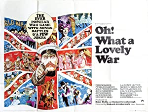 Oh What a Lovely War (Original British quad poster for the 1969 film)