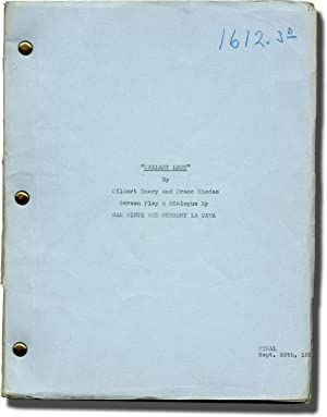 Gallant Lady (Original screenplay for the 1933 film)